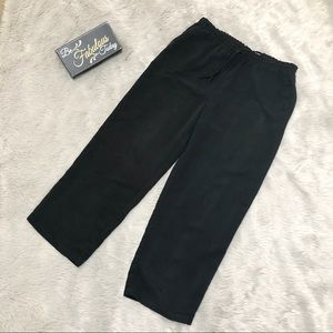 Old Navy Waist string Wide Leg Cropped Pants